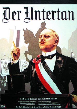 Affiche du film de Wolfgang Staudte Der Untertan