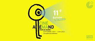 Affiche festival cinéallemand 11eme édition