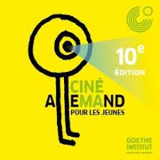 Affiche festival cinéallemand 10eme édition