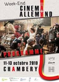 Affiche week-end cinéma allemand à Chambéry 2019