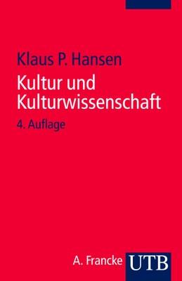 Buch Kultur und Kulturwissenschaft