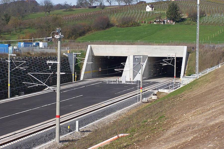 Der Katzenbergtunnel (Baden-Württemberg)