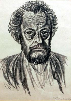 Barlach Selbstbildnis I (1928)