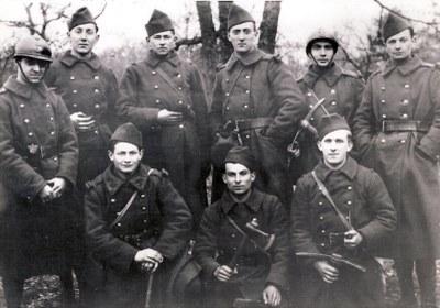 Mitterrand soldat