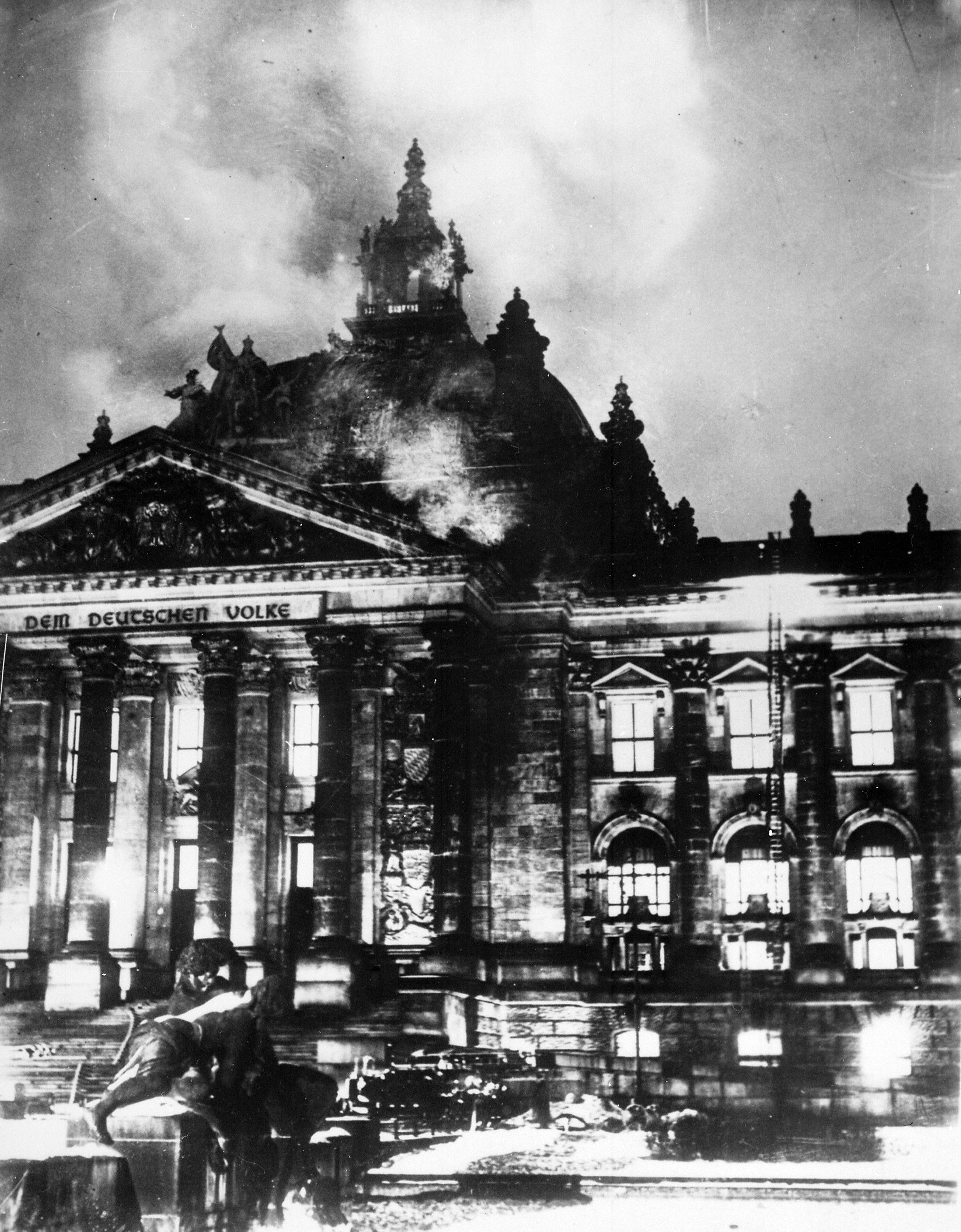 incendie du Reichtsag février 1933