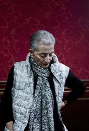 Hélène Cixous © Bertrand Gaudillère / item