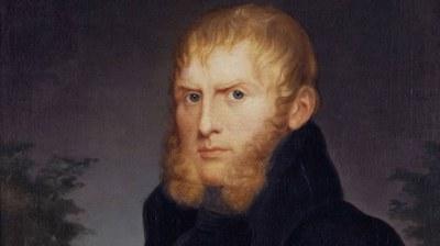 Caroline Bardua   Bildnis des Malers Caspar David Friedrich