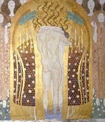 Klimt, Kuss der Beethovenfries 1902