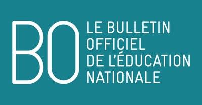 BO Education Nationale