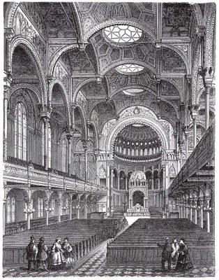 Berlin Neue Synagoge Innenansicht