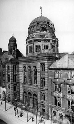 Synagoge Ruine 1948