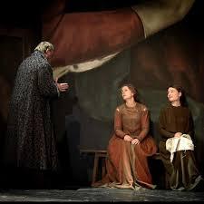 Photo issue de la représentation de la pièce Vie de Galilée à la Comédie-Française