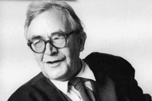 Portrait du théologien protestant suisse Karl Barth opposant au nazisme