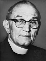 Portrait du pasteur Martin Niemöller opposant au nazisme