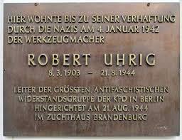 plaque Robert Uhrig