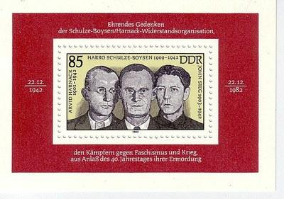 Rote Kapelle Briefmarke