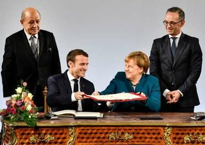 Traité de l'Elysée © Martin Meissner