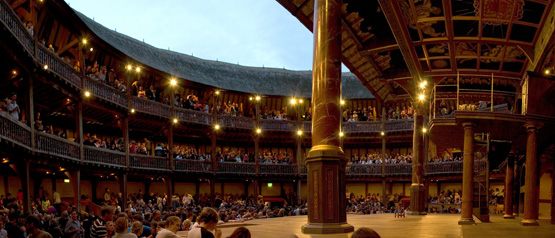 Jens Naehler, Shakespeare Globe Theatre in London, Licence Creative Commons