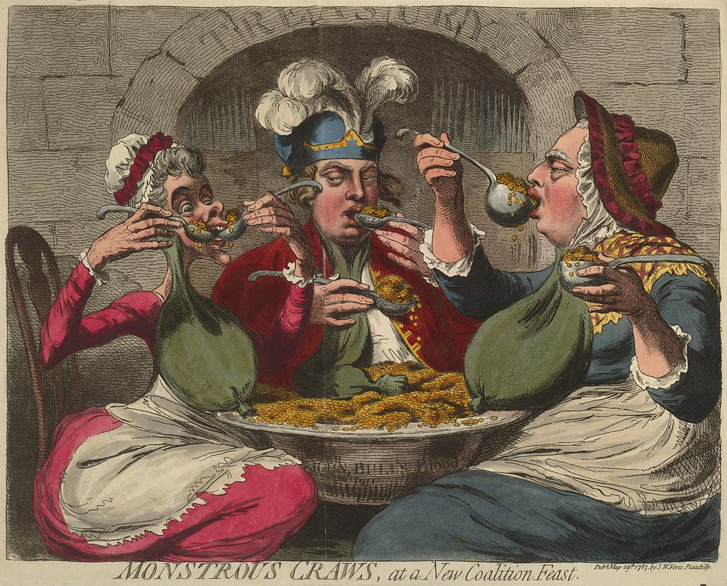 James Gillray [Public domain], via Wikimedia Commons