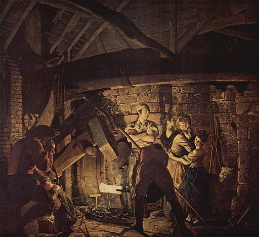 Joseph Wright of Derby [Public domain or Public domain], via Wikimedia Commons