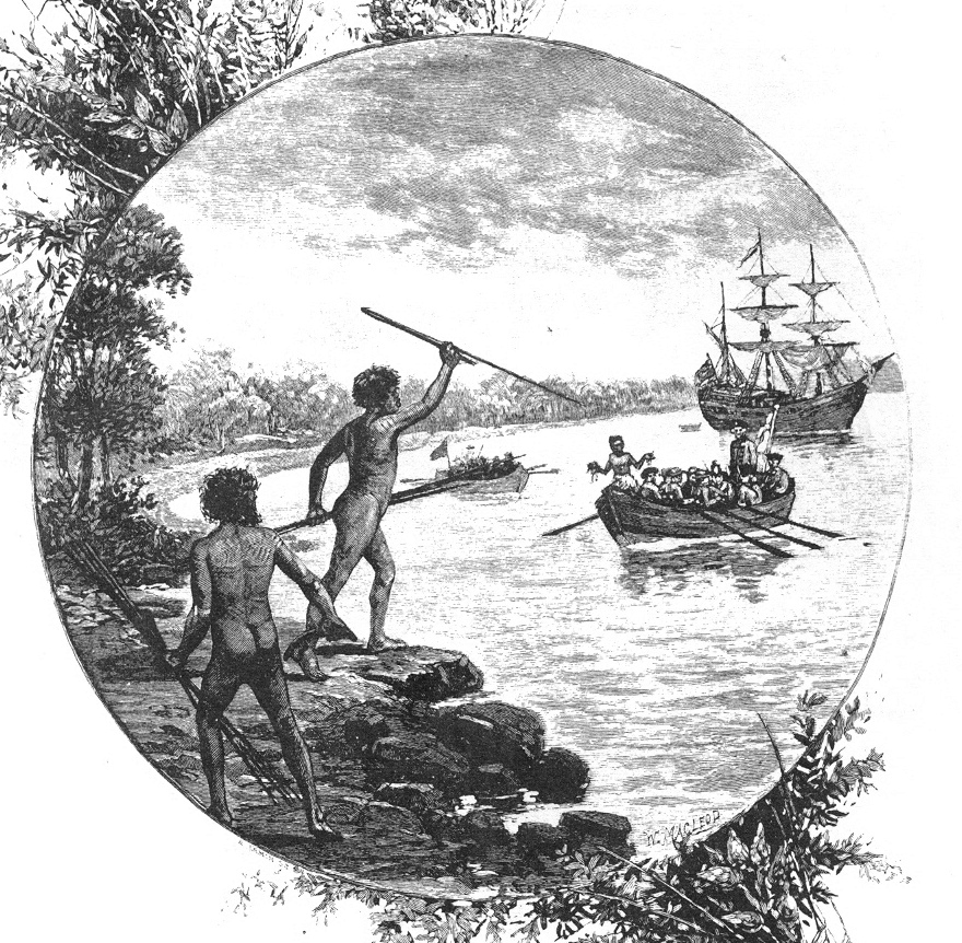 "illustration from ""Australia: the first hundred years"", Andrew Garran, 1886"
