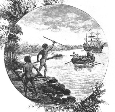"""illustration from """"Australia: the first hundred years"""", Andrew Garran, 1886"""