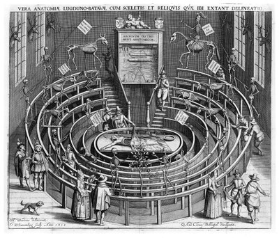 Anatomical theatre Leiden