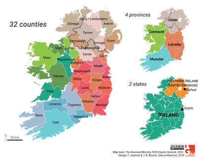 carte irlande comtes provinces EN(1)