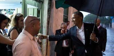 Obama à Cuba - Pete Souza