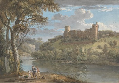 1024px Paul Sandby   Bothwell Castle, from the South   Google Art Project