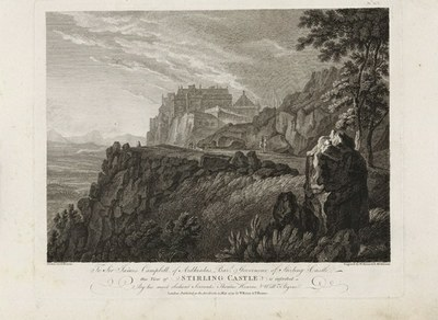 Stirling castle by W. Byrne and S  Middiman   GMII