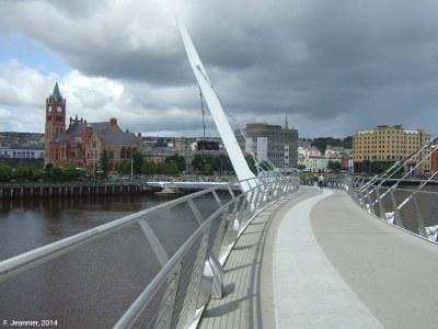 fig 6 Peace Bridge Derry Londonderry