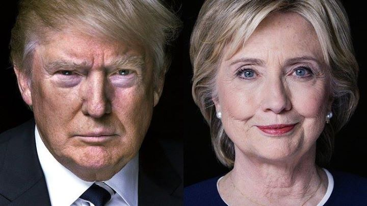 Hillary Clinton and Donald Trump - Rich Girard, Flickr https://www.flickr.com/photos/girardatlarge/28736470374