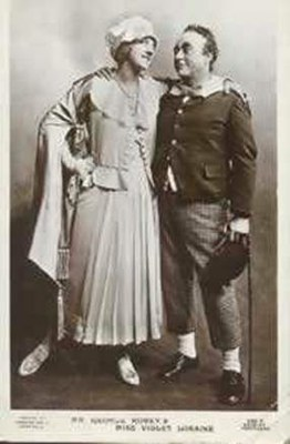 George Robey and Violet Loraine