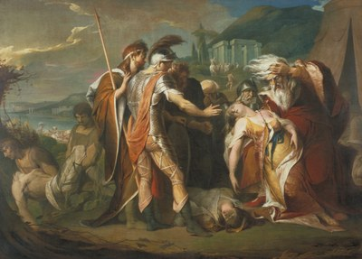 James Barry   King Lear Weeping over the Dead Body of Cordelia