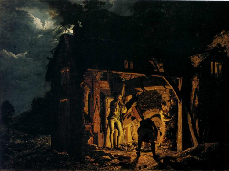 Joseph Wright of Derby [Public domain], via Wikimedia Commons