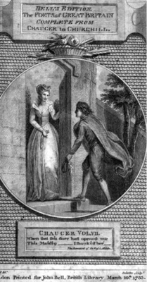 DOC 3: Illustration of The Romaunt of the Rose by Thomas Stothard
