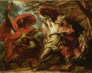 King Lear painting by Benjamin West