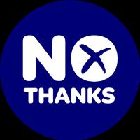 No Thanks campaign