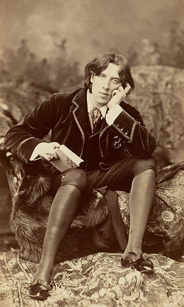 Oscar Wilde à New York, 1882, par Napoléon Sarony.