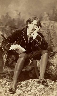 Oscar Wilde Portrait by Sarony