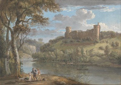 Paul Sandby   Bothwell Castle, from the South   Google Art Project