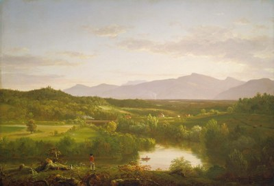River in the Catskills, 1843, Thomas Cole