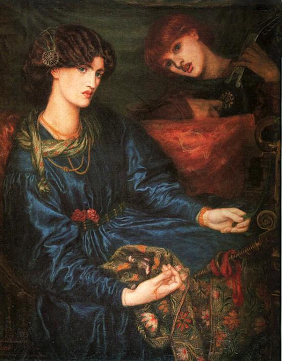 Mariana, Dante Gabriel Rossetti, 1870