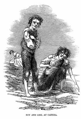 Skibbereen by James Mahony, 1847