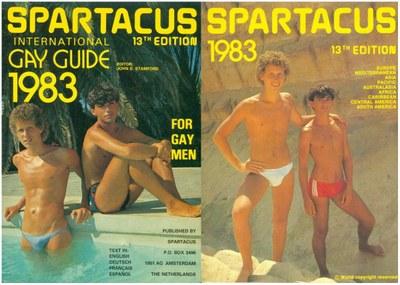 Spartacus Cover 1983