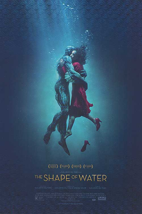 "Affiche du film ""The Shape of Water"""