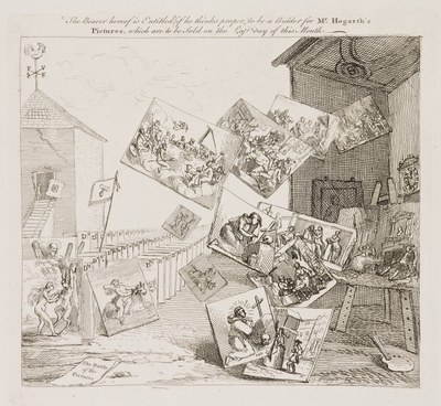 William Hogarth - Battle of the Pictures