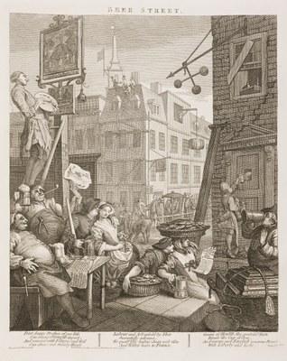 William Hogarth - Beer Street