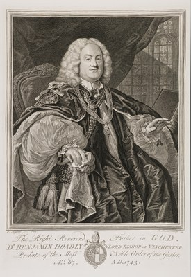William Hogarth - Bishop Hoadly